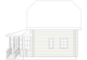 Дома бревенчатые Проект Б 12