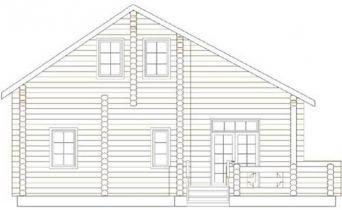 Дома бревенчатые Проект Б 29