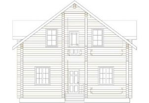 Дома бревенчатые Проект Б 36