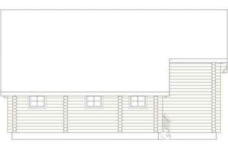 Дома бревенчатые Проект Б 37