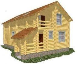 Дома из сруба сосны