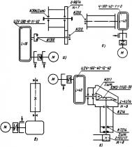Характеристика гидроцилиндров крана АБКС-6