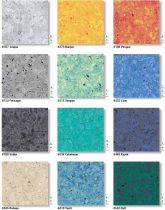 Эластичные компактные напольные покрытия