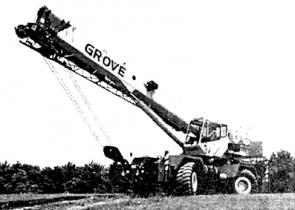 Кран GROVE RT 600E
