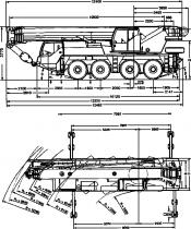 КРАН LIBHERR LTM 1060/2