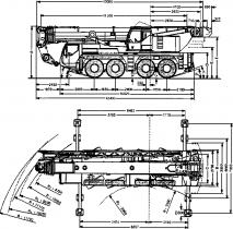 КРАН LIBHERR LTM 1100-4.1