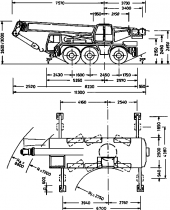 КРАН LTM 1040