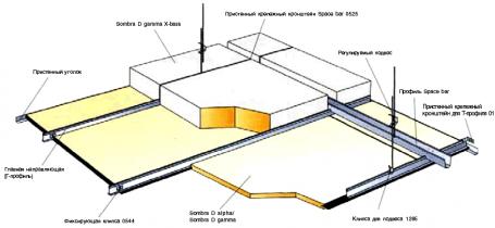 Монтажная схема (М45) для Sombra D