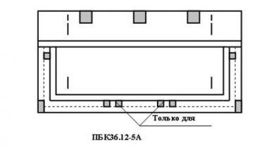 Плиты балконные железобетонные для жилых зданий ПБК