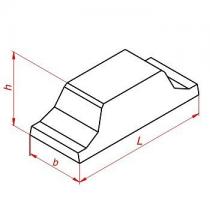 Плиты ленточных фундаментов ФЛ ГОСТ 13580-85