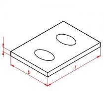Плиты перекрытий фасадные ПФ для серии Призма