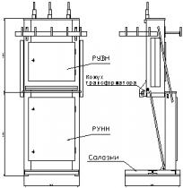 """Подстанции трансформаторные мачтового типа мощностью от 25 до 100 кВА на напряжение 6(10) кВ """"ТПМ-ОЗ"""""""