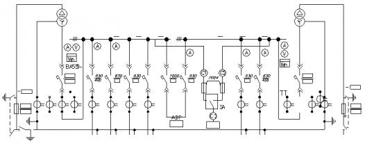 Подстанция двухтрансформаторная комплектная в блочном исполнении 2БКТП