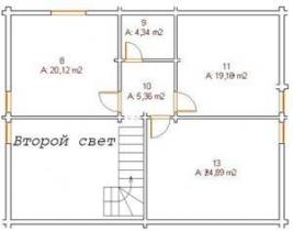 Проект дома из клееного бруса 193-200
