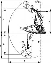 Выдвижная рукоять (корпусного типа)