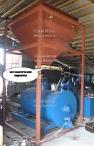 автоматический дозирующий комплекс для песка, цемента, воды