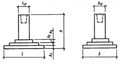 (к СНиП 2.03.01-84, 2.02.01-83) фундаменты под колонны