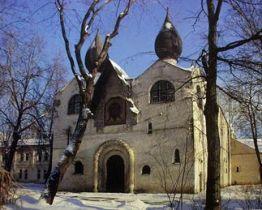 Храм Покрова Марфо-Мариинской обители. Западный фасад