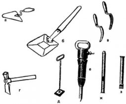 Описание: Инструменты для кирпичной кладки