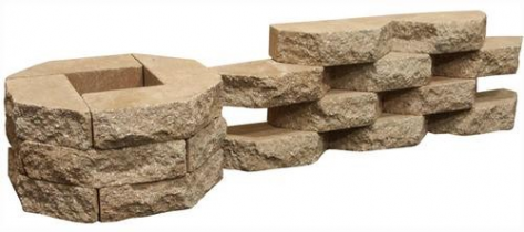 Кирпич искусственный лицевой декорированный угловой под дикий камень