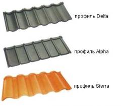 Металлочерепица Coversys из алюмоцинка