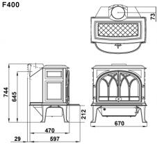 Печь LU3200/13 с духовкой
