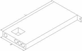 Плиты лоджий железобетонные многопустотные ПЛП (по серии 1.137.1- 8 вып. 3,4)