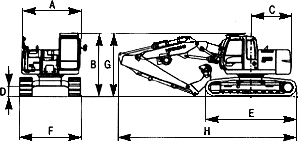 Гидравлическая машина для установки свай без направляющих