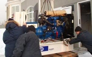 """Дизель генератор """"FG Wilson P60P1(65E)"""" номинальной мощностью 60 кВА"""