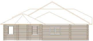 Проект дома из клееного бруса 149-200