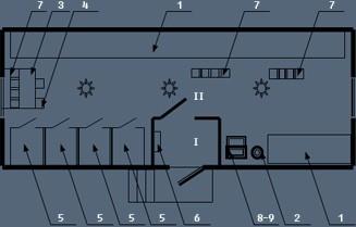 Здание мобильное жилое типа ТОИР с подсобным помещением