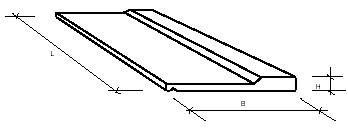 Плиты балконные железобетонные ПБК