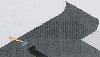 Укладка на горизонтальную поверхность
