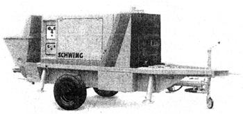 Бетононасос ВР 1500 HDR (SCHWING)