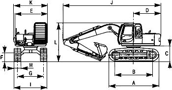Машина для лесозаготовительных работ