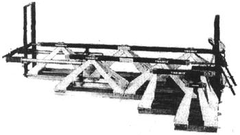 Модульная виброрейка SVE из унифицированных рамных секций TREMIX (Швеция-Россия)