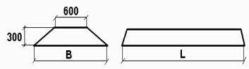 Плиты ленточного фундамента ФЛ