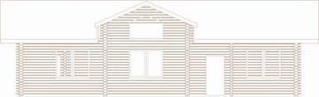 Проект дома из клееного бруса 103-200