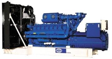 """Электростанция дизельная """"FG Wilson P1700"""" номинальной мощностью 1700 кВА"""
