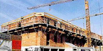 Складные подмости для бетонирования ВКВ 125