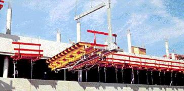 Системные столы для опалубки перекрытий SDT