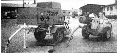 Бетононасосы серии Pneumix PX