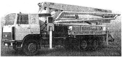 Автобетононасос KVM 34 XG (SCHWING)