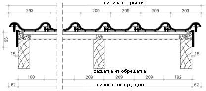 Черепица керамическая Вraas Агат