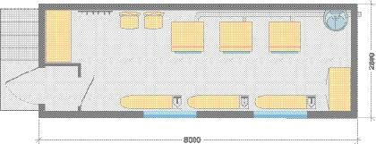 Здания производственные модульные