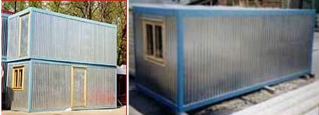 Бытовки-контейнеры металлические