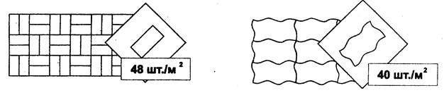 Брусчатка керамическая