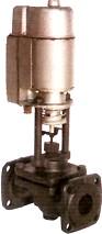 15кч892п; 15кч892р Клапан запорный типа СКИ с электромагнитным приводом фланцевый из ковкого чугуна